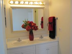 Staging a Bathroom Vanity Your Buyer Will LOVE - DIY Tips, Ideas and Pictures