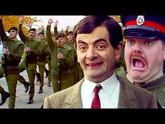 Army BEAN | Mr Bean Full Episodes | Mr Bean Official - YouTube Mr Bean Movie, Robot Bird, Mr Bean Funny, Johnny English, British Comedy, Military Personnel, Full Episodes, Videos Funny, Stay Tuned