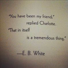 Charlotte's Web @Kristine Parke Lawson @Paula mcr mcr Speich @Amy Lyons Lyons De La Garza