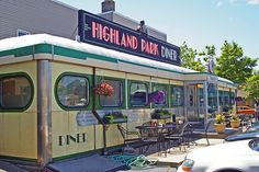 The Highland Park Diner, front view   Flickr - Photo Sharing!