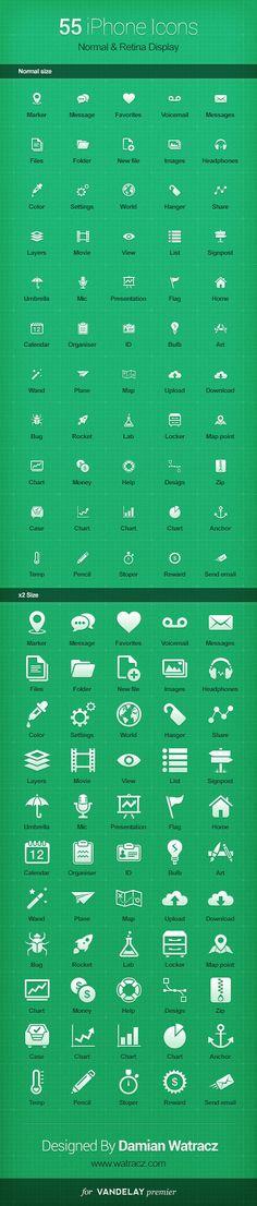 Free Mobile Icon Set