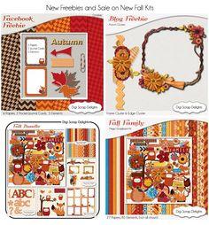 Fall Facebook Freebie Hop and Blog Freebie! #autumn #orange #red #blue #brown #free #download