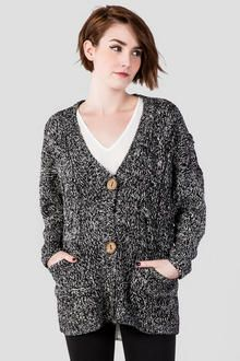Quinn Buttoned Cardigan Wrap