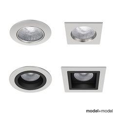 Onok Recessed Spotlights Lights 3D Max - 3D Model