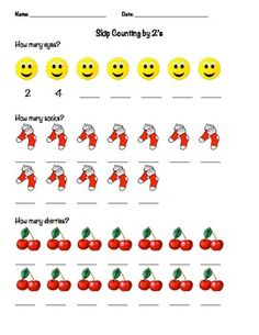 Skip Counting Packet: 2s, 3s, 5s, 10s and 100s Worksheet ...