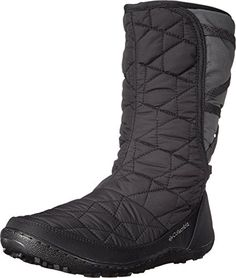 Columbia Women's Minx Tall Slip Omni Winter Boot, Black/Jewel, 5.5 M US * Check out this great product.