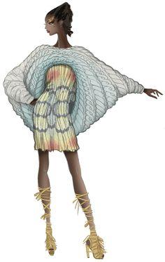 JAA DESIGN original fashion illustration