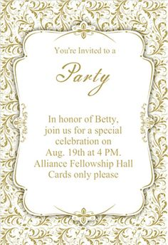 Free printable 70th birthday invitation favorite public art gold ornaments printable invitation template customize add text and photos print filmwisefo