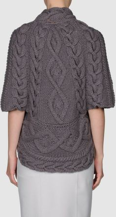 Brunello Cucinelli Cashmere Sweater in Gray (grey) - Lyst