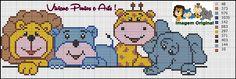 Baby blanket monogram design 41 ideas for 2019 Baby Cross Stitch Patterns, Cross Stitch For Kids, Cross Stitch Boards, Cross Stitch Bookmarks, Cross Stitch Baby, Cross Stitch Animals, Cross Stitch Designs, Monogram Design, Cross Stitching