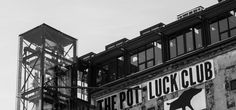the Pot Luck Club // Restaurant // Woodstock Situated on the top floor of the silo of the old biscuit mill. The success is based on innovative cuisine, served in a relaxed yet edgy environment.
