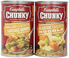 Campbell's Chunk Soup Variety Pack, 18.6 Ounce (Pack of 6) Campbell's http://www.amazon.com/dp/B00E9NZC66/ref=cm_sw_r_pi_dp_PuyRwb1RCTHB4