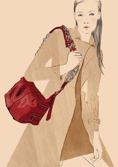 Spanish fashion illustrator Sandra Suy | DENKI-MIRAI, Japanese art licensing…