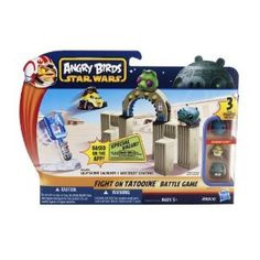 Parker: Angry Birds Star Wars Fighter Pods Strike Back - Fight On Tatooine