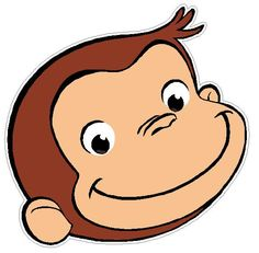 Curious george he is just to darn cute things i love for Curious george cake template