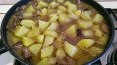 Ricetta: Spezzatino di carne di manzo con patate