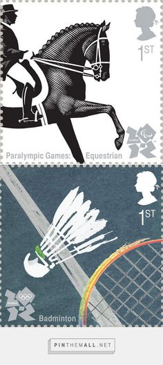 London 2012 Olympics Stamps - The Inspiration Room -