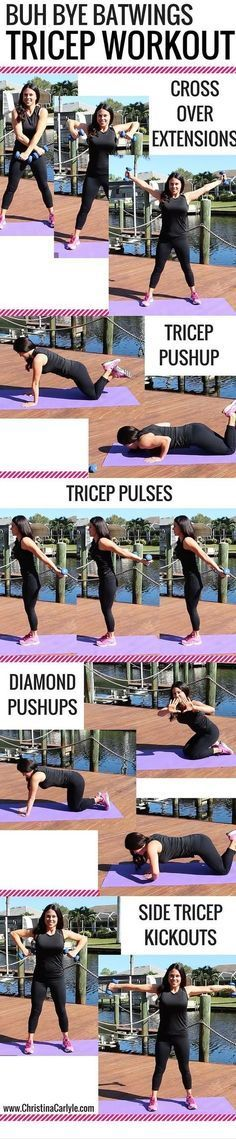 Batwings Tricep Workout