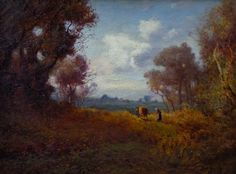 """Patrick Vincent Berry """"Going Home"""" 13x16 Oil on Canvas"""