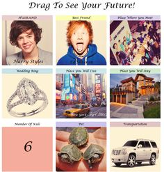 I don't know which one I am more excited for: marrying Haz or being best friends with the Ginger Jesus. :'D one direction, 1D, harry styles, louis tomlinson, niall horan, liam payne, zayn malik, hazza, lou, nialler, harreh, tommo .xx