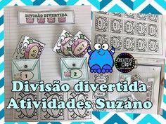 Divisão divertida, atividade interativa EM PDF - Atividades Adriana