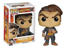 From 2K Games' Borderlands 2 video game, it's Handsome Jack! This despicable antagonist knows no boundary when it comes to his evil ambitions. The Borderlands Handsome Jack Pop! Vinyl Figure measures approximately 3 3/4-inches tall.