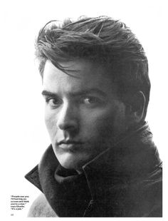 "Young Charlie Sheen- before the tigerblood and pills & coke & hookers and ""winning"""