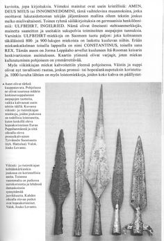 Finnish spears from the Viking Age. I have no idea what the article says.