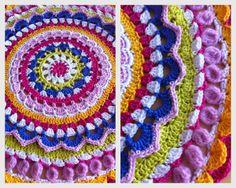 crochet mandala / crochet ideas and tips - Juxtapost www.juxtapost.com