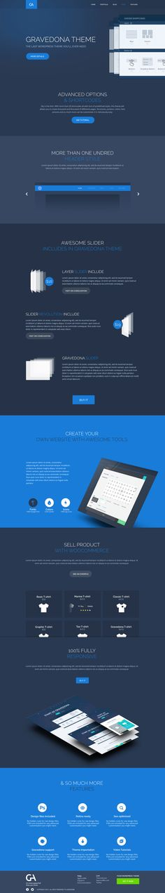 Tour Gravedona Theme - by Barthelemy Chalvet | #ui #webdesign #wordpress #responsive