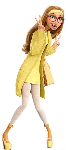 Honey Lemon is a major character from Disney's upcoming 2014 animated feature film Big Hero 6.