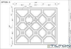 Bespoke Coffered Ceiling Design 09