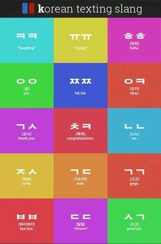 Korean texting slang