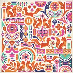 Courtney Blair / Pattern design