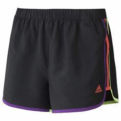 Short Marathon 10 Feminino, black/tribe purple, zoom