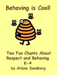 Freebie! Behaving is Cool! $0 Fern Smith's Classroom Ideas!