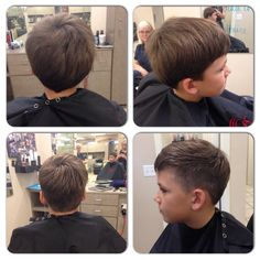 Men's haircut. Foreget the clippers. Pick up your scissors. :)