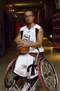ATHLETE No.0006  車椅子バスケットボールプレーヤー 安 直樹 (やす なおき)