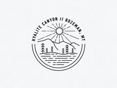Traverse | Hyalite Canyon Badge by Tyler Fortune
