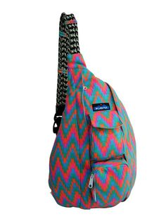 Kavu Rope Bag-Neon Tile | CrossRoads Online