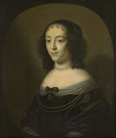 Dutch School — Portrait of a Young Woman, c.1660   : Royal Collection Trust, Her Majesty Queen Elizabeth II . UK   (1685x2000)