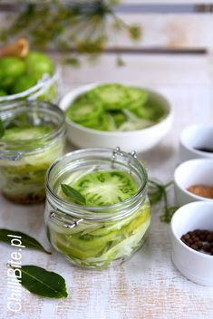 Pickles, Cucumber, Jar, Salad, Canning, Vegetables, Ethnic Recipes, Food, Fried Green Tomatoes