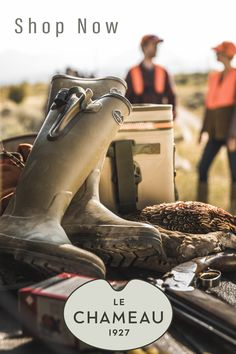 High quality hand crafted rubber boots from Le Chameau