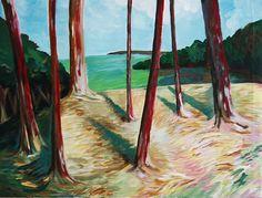 Trees in Lanškroun.