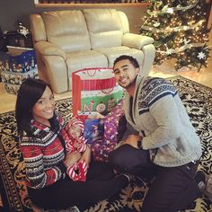 Latoya Forever Baby Samia Ali Adam Mummy Daddy New Born Happy Family Christmas Holiday