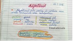 Adjective, parts of the speech, adjectives parade, adjectivul, parada adjectivelor