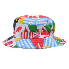 7664341087b6d The Giant Peach - Wu-Tang Brand Ltd - Wu Cup Mesh Bucket Hat