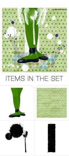 """""""Dancing in the Rain"""" by juliehalloran ❤ liked on Polyvore featuring art"""