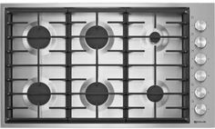 Jenn Air 6 burner low profile. Comes top rated and affordable.  JGC7636BS1-1
