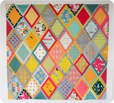 Center of the quilt by badskirt - amy, via Flickr